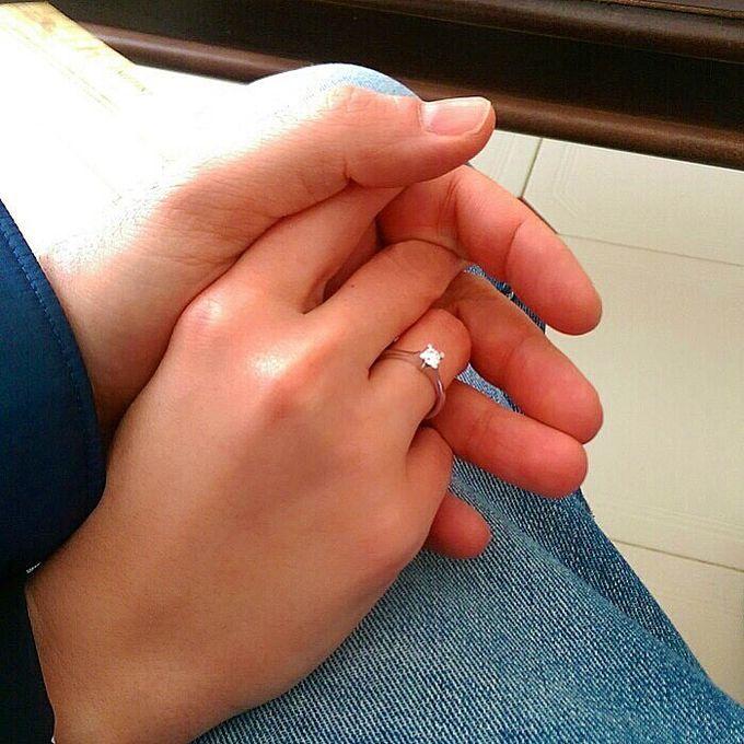 несмотря на то, что классика - это кольцо моей мечты. Белое золото, бриллиант