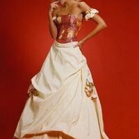 бирюзовые платья для выпускного вечера