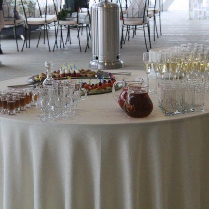 Аренда круглых столов на 8 или 10 человек