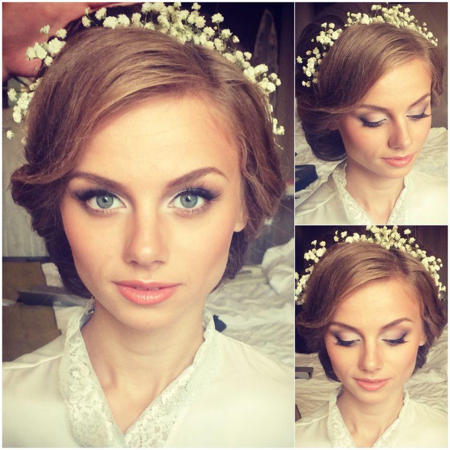 Игра прическа и макияж для свадьбы
