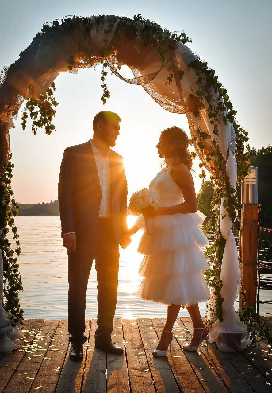 """Свадебная церемония у воды - фото 19996411 Ресторан """"Причал95"""""""