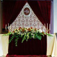 Бархатная свадьба: роскошь и сдержанность в одном оформлении