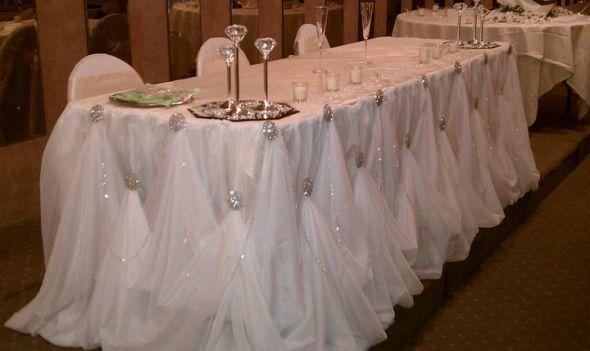 Кружева свадебное оформление