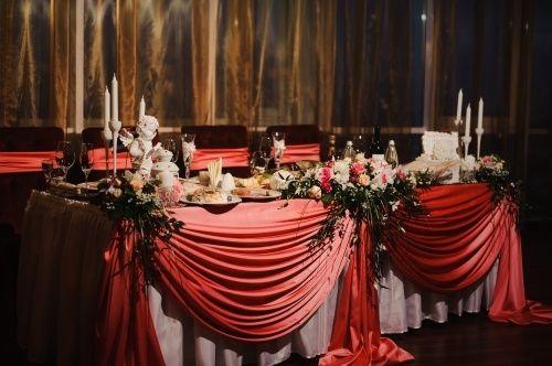 оформление в красном цветет - фото 4552699 Ресторан Fly