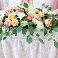 Декор свадьбы живыми цветами в Новокуйбышевске