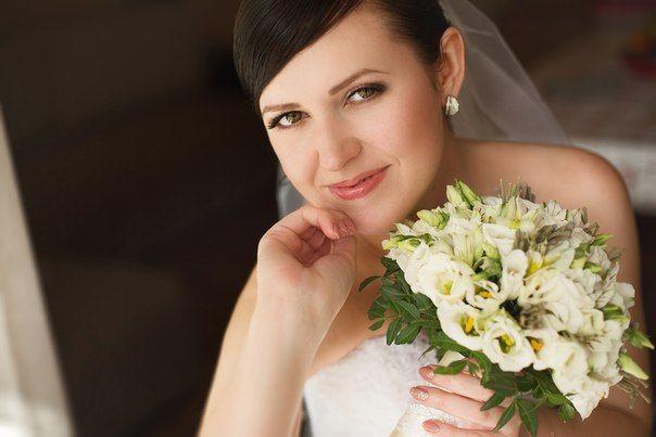 Прическа и макияж Костинская Татьяна.Невеста Анастасия - фото 4604381 Стилист Костинская Татьяна