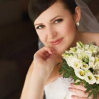 Прическа и макияж Костинская Татьяна.Невеста Анастасия