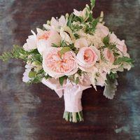 Букет невесты с розами Дэвида Остина