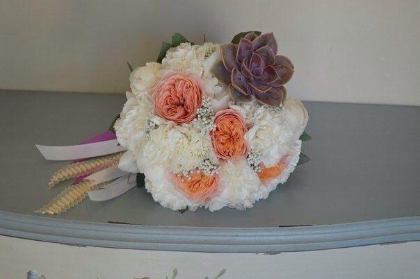 Фото 4628637 в коллекции Свадьбы. Архив. Букеты - Студия цветов El Fleurs