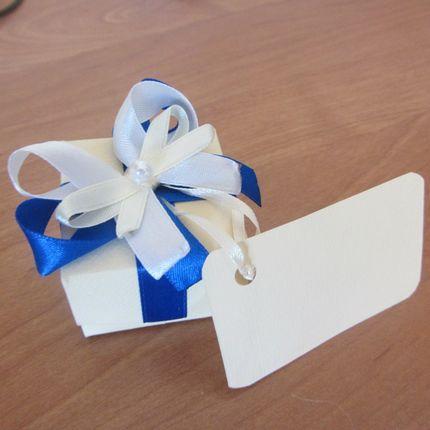 Бонбоньерки-коробочки дла подарков гостей