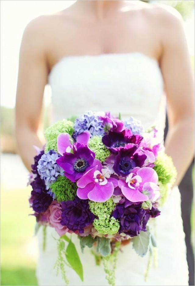 фиолетовый. сиреневый, зеленый, букет невесты - фото 10438374 Невеста01