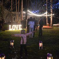 Буквы LOVE светящиеся напрокат