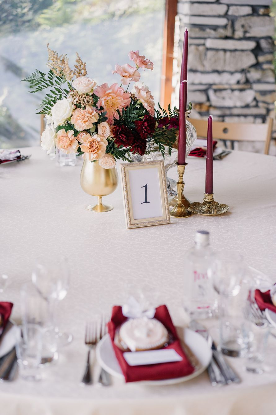 Композиции на гостевые столы