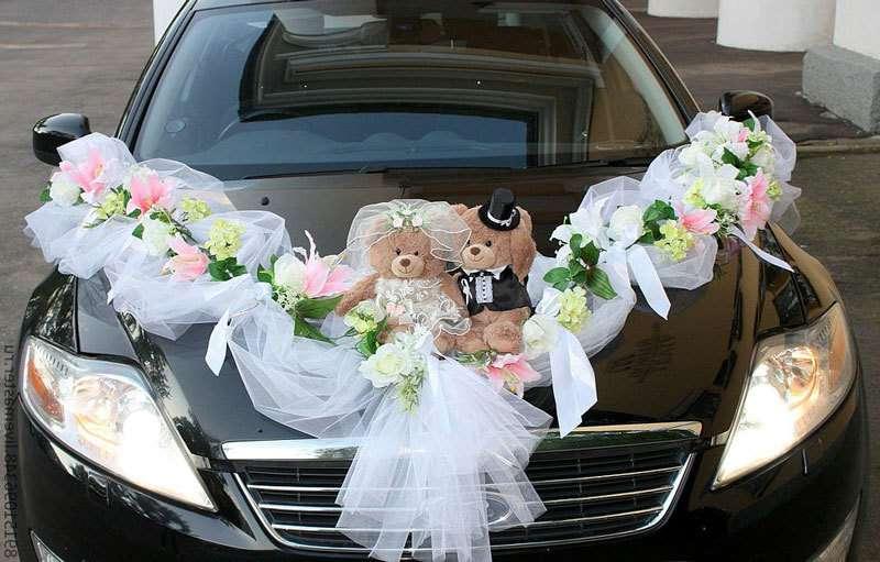 Украшение авто - фото 4833083 Декорация - организация и оформление свадеб