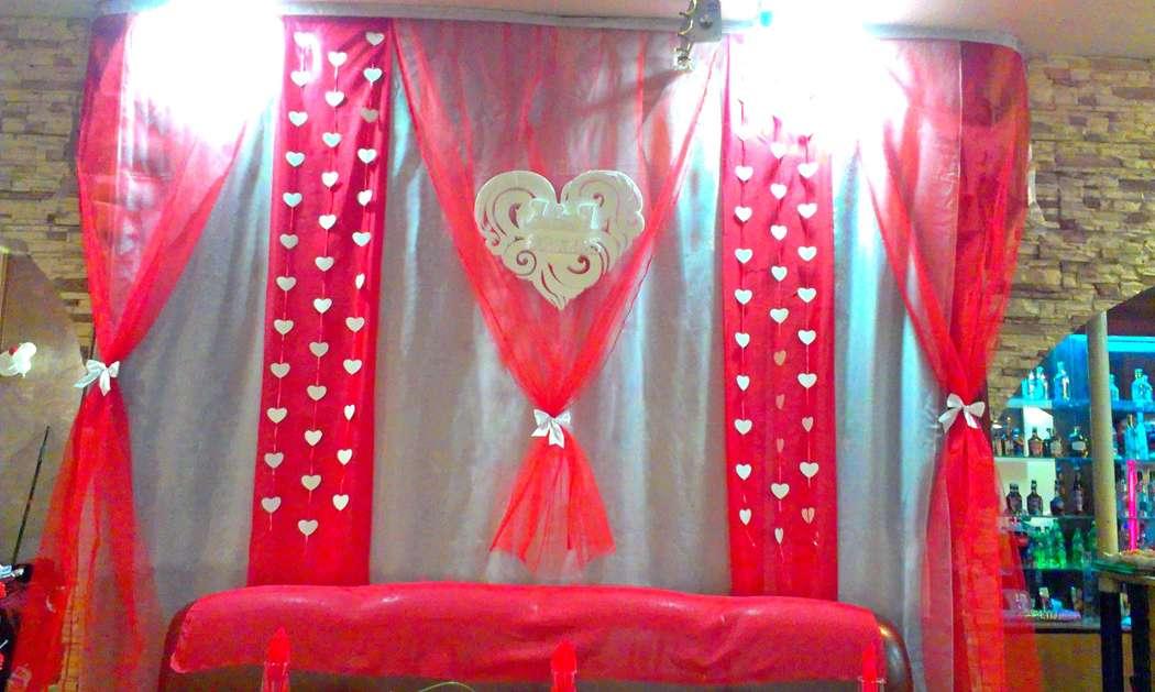Фото 6477684 в коллекции Красно-белая свадьба - Декорация - организация и оформление свадеб