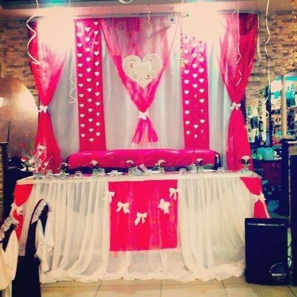 В красно-белом - фото 6477688 Декорация - организация и оформление свадеб