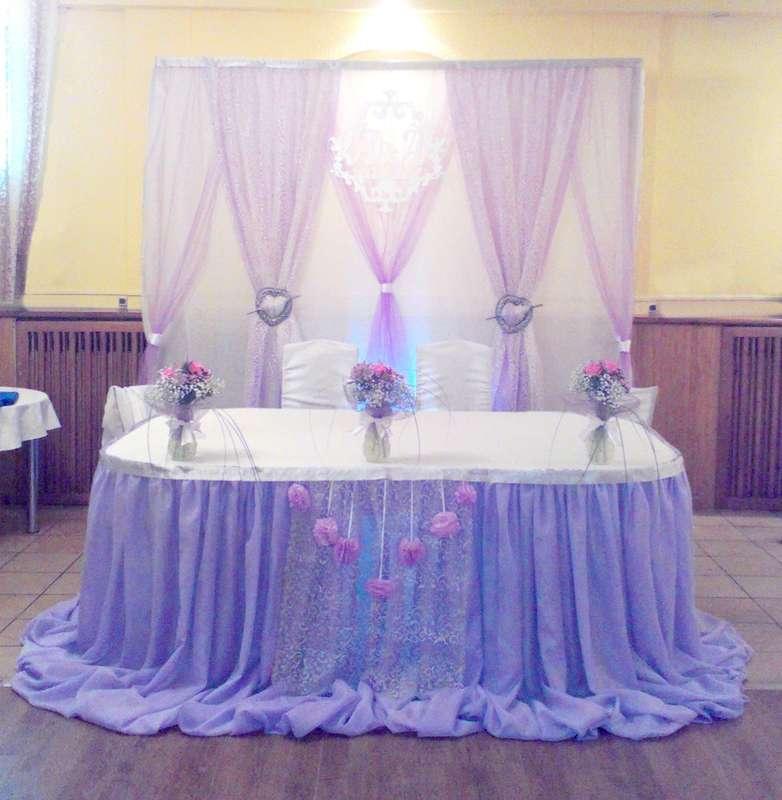 Фото 6477710 в коллекции Нежность в сиреневом цвете - Декорация - организация и оформление свадеб
