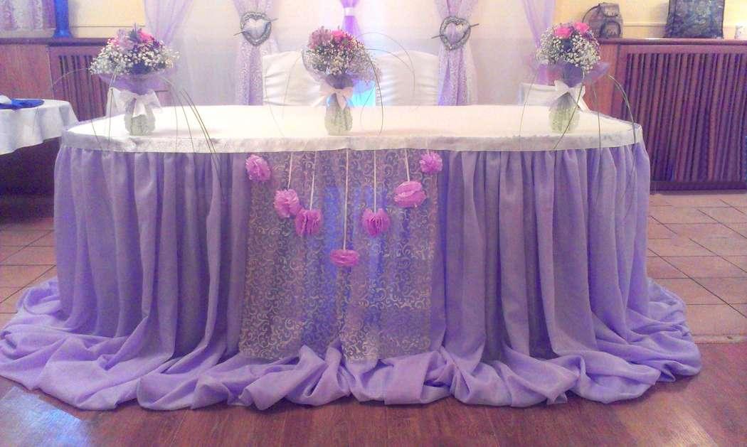 Фото 6477712 в коллекции Нежность в сиреневом цвете - Декорация - организация и оформление свадеб
