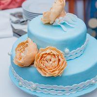сборы невесты, персиково-голубая свадьба, идея для свадьбы, образ невесты, креативная свадьба, яркая свадьба, нежная, нежность, торт