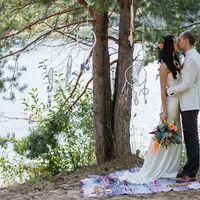 бохо-стиль, бохо, свадьба в стиле бохо, длинное платье, идея для платья, платье на заказ, идея для свадьбы, идея букета, образ невесты, хиппи, рустик, бохо - свадьба, ловцы снов, аксессуары, выездная церемония, выездная регистрация, свадьба у озера, озеро