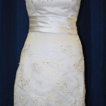 Короткое стильное свадебное платье Кетти