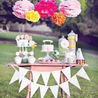 свадебный чайный стол - приятная традиция.