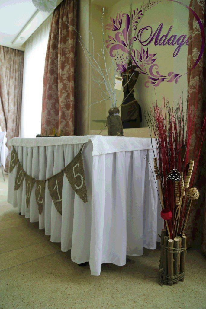 """Фото 4916525 в коллекции Свадьба в стиле rustic - """"Adagio"""" - свадебный декор"""