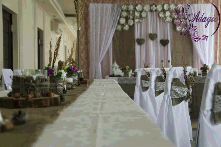"""Фото 4916537 в коллекции Свадьба в стиле rustic - """"Adagio"""" - свадебный декор"""