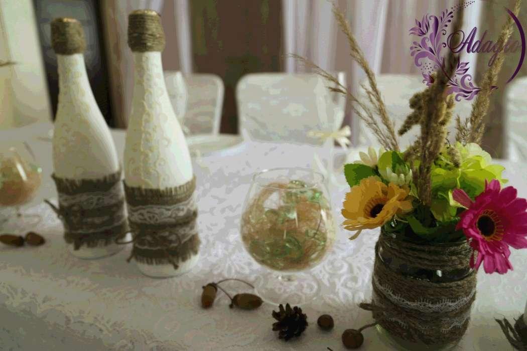 """Фото 4916569 в коллекции Свадьба в стиле rustic - """"Adagio"""" - свадебный декор"""