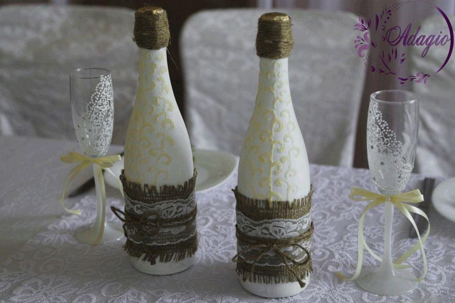 """Фото 4916571 в коллекции Свадьба в стиле rustic - """"Adagio"""" - свадебный декор"""