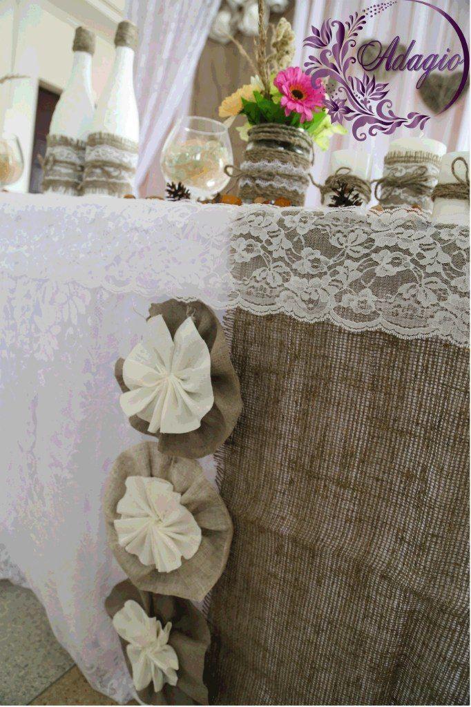 """Фото 4916573 в коллекции Свадьба в стиле rustic - """"Adagio"""" - свадебный декор"""