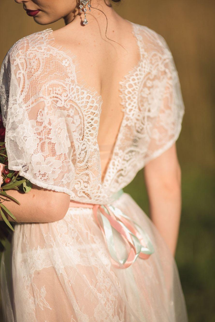 Будуарное платье невесты своими руками мастер класс 5