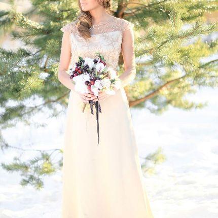 Свадебное платье Золото истоков