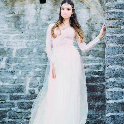 """Свадебное платье """"Магия сапфировой розы"""""""