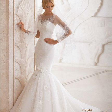 Свадебное платье Горный хрусталь