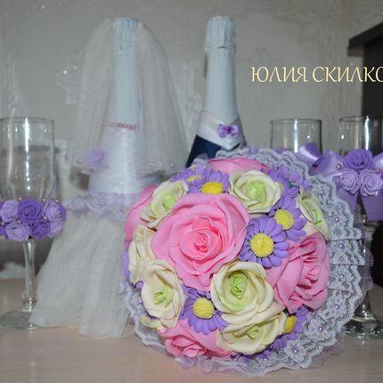 Свадебный набор аксессуаров - пакет Фиолетовая свадьба