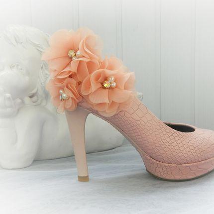 Розовые свадебные туфли 36