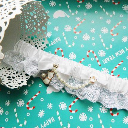 "Подвязка невесты ""White cat"""