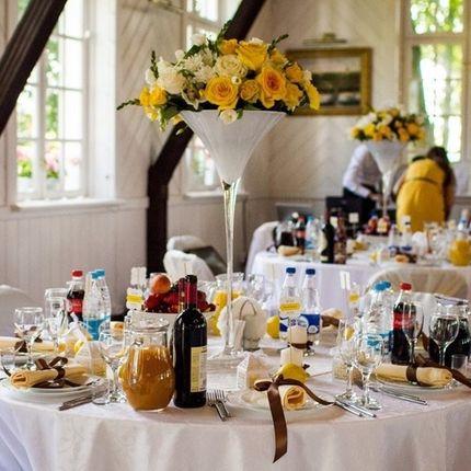 Декор столов гостей
