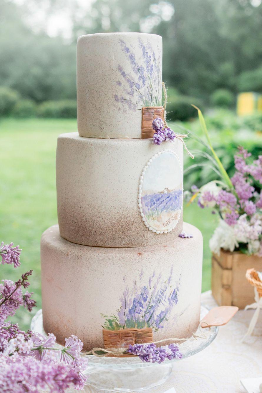 Нежный прованс в мастичном исполнении - фото 9989008 SweetMarin кондитерская - студия тортов