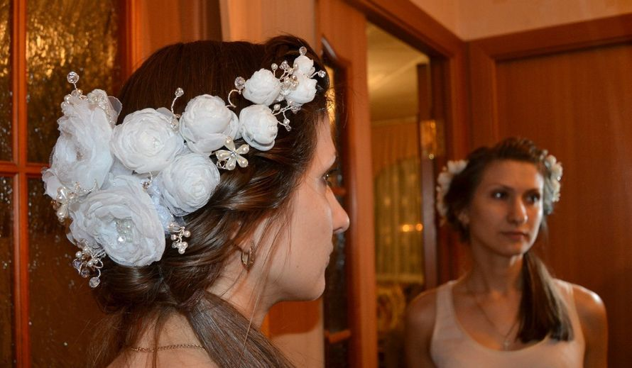 Венок свадебный, диадема