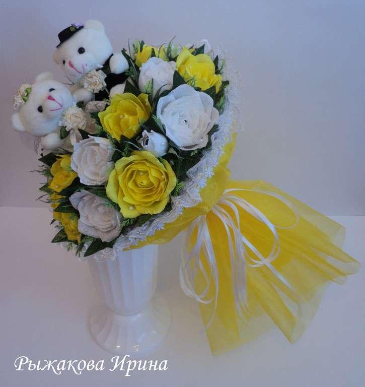 Фото 5168503 в коллекции Свадебные композиции из конфет - Свит дизайн Рыжакова Ирина