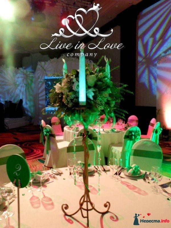 Фото 348812 в коллекции ОФОРМЛЕНИЕ ЗАЛОВ - Live in LOVE company - оформление свадеб