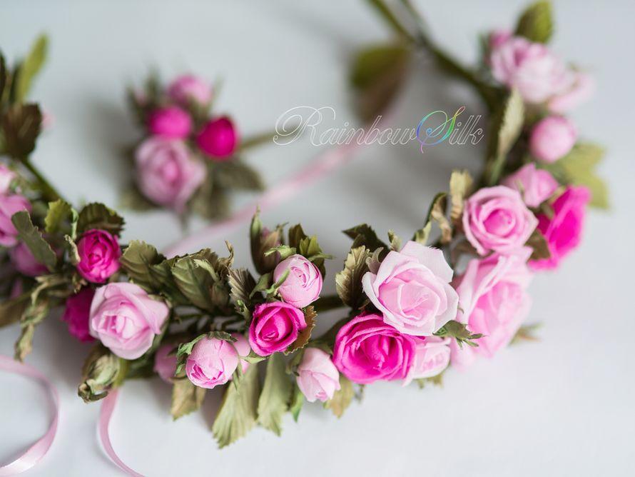 Фото 5179357 в коллекции Цветы из шёлка ручной работы - Студия шёлковой флористики Rainbow silk