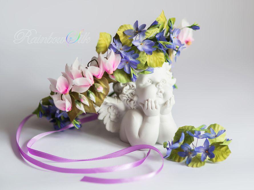 Фото 5179829 в коллекции Цветы из шёлка ручной работы - Студия шёлковой флористики Rainbow silk