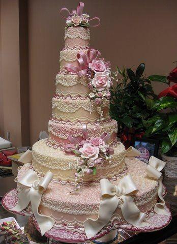 Шикарные торты на свадьбу фото