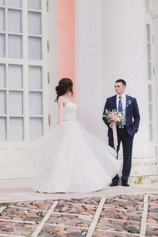 """Свадебное платье """"Милена"""" - фото 12249022 Свадебный салон DIONI"""