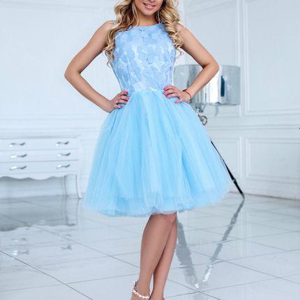 Короткое вечернее платье Кэтти (FL)