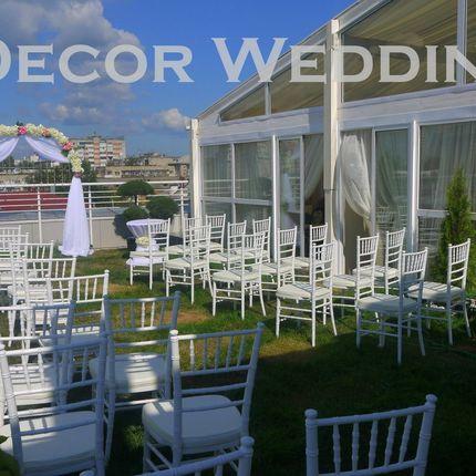 Оформление зоны свадебной регистрации