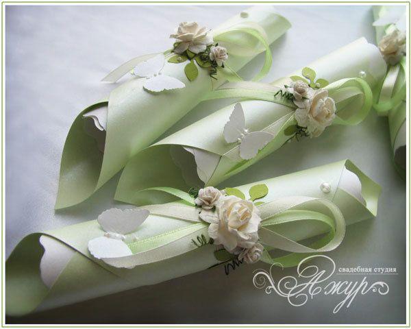 """Фото 5256703 в коллекции Свадебные приглашения - """"Ажур декор"""" - студия красивых свадеб"""